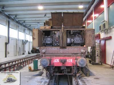 Restauro agosto 2006 atsl la spezia for Planimetrie della cabina di log
